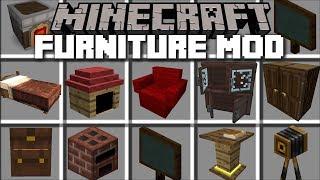 Download Minecraft FURNITURE MOD / REBUILDING HOUSES IN MINECRAFT!! Minecraft Video
