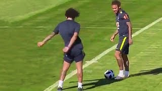 Download Funny Moments in Training #2 ● Marcelo, Mbappe, Neymar, Ronaldo Video