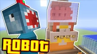 Download Minecraft Xbox - ROBOT!! - Building Time! [#61] Video