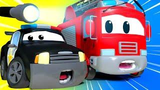 Download La Super Patrulla - La Casa de Diversión - Auto City   Dibujos animados de carros Video