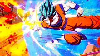 Download DRAGON BALL FighterZ - Story Mode, SSB Kaioken Goku, SSB Vegeta & Android 16/17/18 (V-jump Scan) Video
