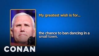Download Celebrity Survey: Mike Pence, Vladimir Putin Edition - CONAN on TBS Video