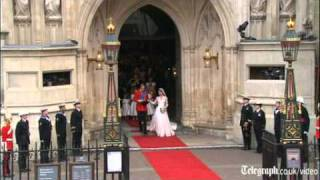 Download Prince William and Kate Middleton: how the royal wedding day unfolded Video