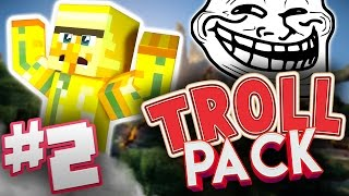 Download GETTING OVERPOWERED - Troll Pack #2 - Minecraft w/Nice Posture! Video