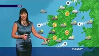 Download Jean Byrne RTE News Weather Ireland 20 03 2011 Video
