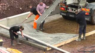 Download Building a Shed - Preparing the Pit. Video