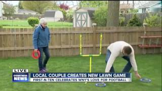Download First-n-Ten is Western New York's hottest new lawn game Video