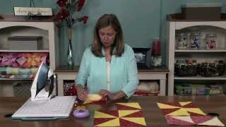 Download How to Make a Pinwheel Quilt Block | National Quilters Circle Video