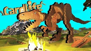 Download Attack of the Cardboard DINOSAURS! - Card Life Gameplay Video