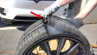 Download What's inside a Tesla Tire? Video