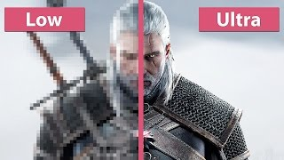 Download The Witcher 3: Wild Hunt – PC Low vs. Ultra Graphics Comparison Pre Day-One Patch [60fps][FullHD] Video