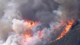 Download Strong Winds Fuel Destructive Southern California Wildfire | NBC Nightly News Video