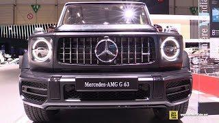 Download 2019 Mercedes AMG G63 - Exterior and Interior Walkaround - Debut at 2018 Geneva Motor Show Video