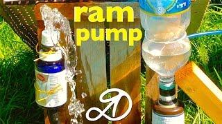 Download How to make the hydraulic ram. DIY hydraulic ram pump Video