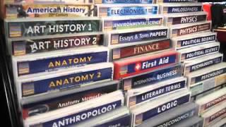 Download Sarah giving a tour of Carleton University Bookstore (Part 1) Video