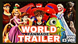 Download 【Fanmade】キングダムハーツ3:ディズニーワールド紹介まとめ映像 Video