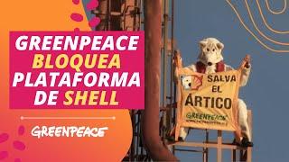 Download Greenpeace bloquea plataforma de Shell Video