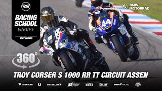 Download Troy Corser 🐊 S1000RR M 360° Onboard in TT Circuit Assen Video