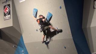 Download Colin Duffy 2017 USAC Bouldering National Qualifiers Video