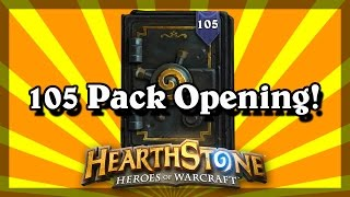 Download Hearthstone - 105 Pack Opening of Mean Streets of Gadgetzan! Video