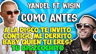 Download Yandel ft Wisin - Como antes (Letra) Video