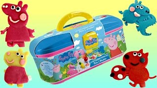 Download Nick Jr. PEPPA PIG Picnic Dough Set with George & Friends Carry Case Video