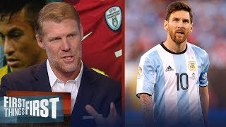Download Alexi Lalas on how the 2018 FIFA World Cup could change Messi's legacy | SOCCER | FIRST THINGS FIRST Video