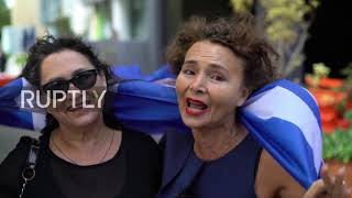 Download Australia: Greek community in Melbourne protest Macedonia name dispute Video
