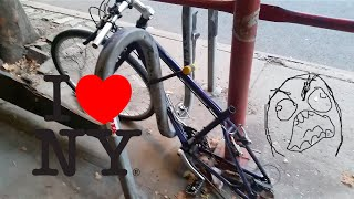 Download 4 Ways to Properly Lock your Bike in New York City Video