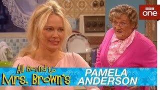 Download Pamela Anderson in Mrs Brown's kitchen - All Round to Mrs Brown's: Episode 1 - BBC One Video