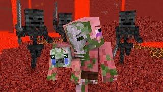 Download Zombie Pigman Life 1-3 - Minecraft animation Video
