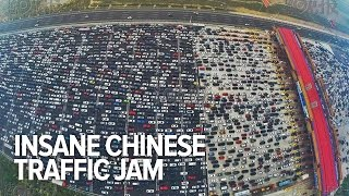 Download Insane Chinese traffic jam Video