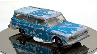 Download Matchbox Restoration: Lesney No42 Studebaker Lark Wagonaire Video