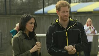 Download Prince Harry Speaks Out About Being 'Incredibly Grateful' for Meghan Markle in Rare Moment Video
