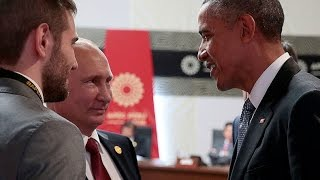 Download Obama & Putin talk Syria, Ukraine at APEC summit Video
