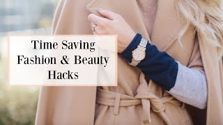 Download Time Saving Fashion & Beauty Hacks! 3 Go-To Outfits For When You're In A Rush | AD Video