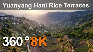 Download Yuanyang Hani Rice Terraces, China. Aerial 360 video in 8K Video
