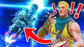 Download REACTING To The ROCKET LAUNCH *GAMEPLAY* In Fortnite Battle Royale! Video