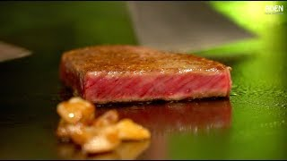 Download Japan's Most Expensive Steak - Matsusaka Wagyu Beef Teppanyaki Video