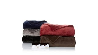 Download Soft Cozy Heated Blanket Twin Video
