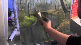 Download Художник Игорь Сахаров, как научиться рисовать речку в лесу, уроки рисования Video