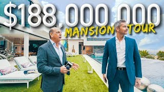Download Touring A Massive $188 Million California Mega Mansion | Ryan Serhant Vlog #038 Video