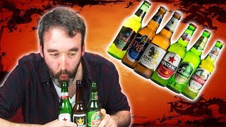 Download Irish People Taste Test Asian Beers Video