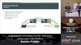 Download Augmentation of Existing Joomla! Extensions using a Low-Code Platform - Dennis Priefer Video
