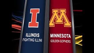 Download Big Ten Basketball Highlights: Illinois at Minnesota Video