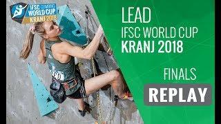 Download IFSC Climbing World Cup - Kranj 2018 - Lead - Finals Video