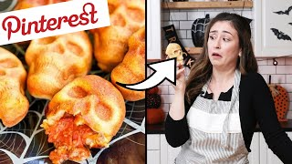 Download I Tested The Most Viral Pinterest Halloween Recipes Video