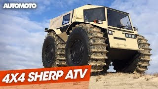 Download Sherp ATV, le 4x4 amphibie venu du froid Video
