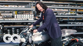 Download Keanu Reeves Shows Us His Most Prized Motorcycles | Collected | GQ Video