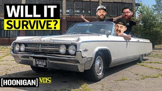Download World's Best Car Cruise?? Doing Woodward Dream Cruise in our $3,500 Land Yacht Video